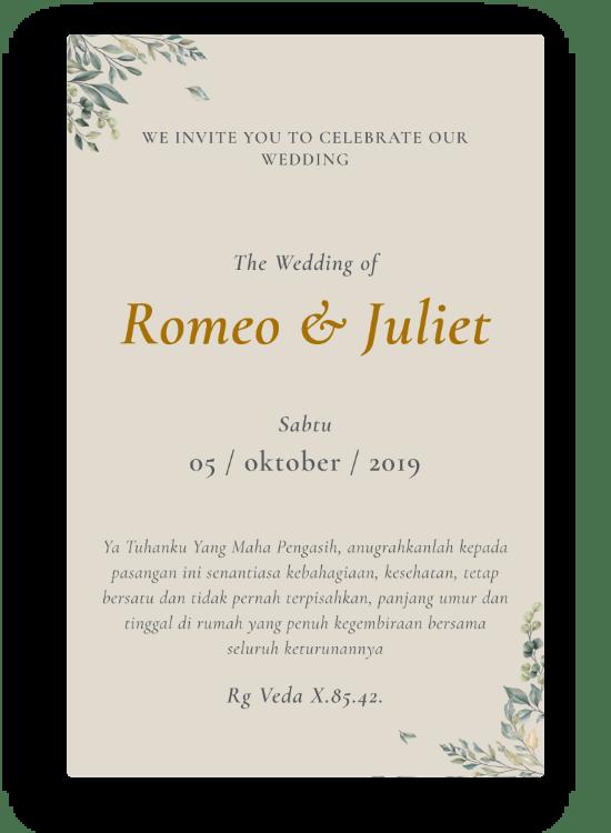 Jasa Undangan Pernikahan Online Bali Murah Berkualitas Acarakami